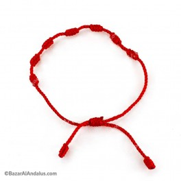 Pulsera Roja - Suerte y Protección