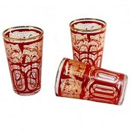Vasos de té dibujados