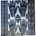 Plantilla Lote para Tatuajes de Henna