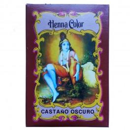 Henna Color Castaño Oscuro - Cabellos - Radhe Shyam