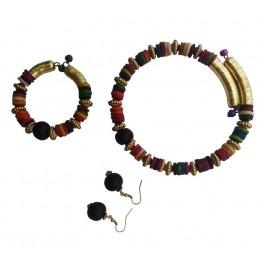Conjunto Etnico Multicolor