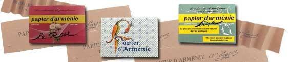 PAPEL DE ARMENIA | PAPIER DU ARMENIE